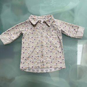 PeekABoo Beans collated shirt with 1/2 sleeves